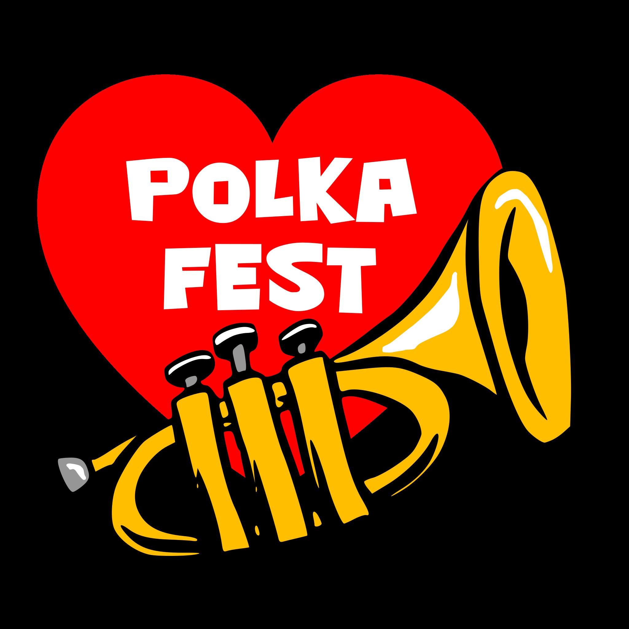 Polkafest logo vrijstaand
